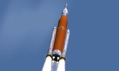 NASA, Ay seferleri için kullanacağı roketin motor testlerini tamamladı