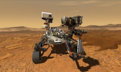 Perseverance, Mars'taki iniş bölgesini fotoğrafladı