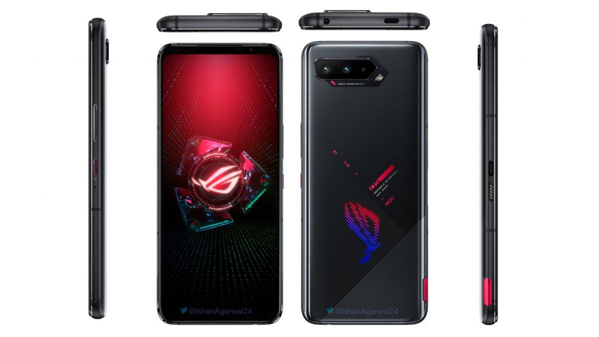 ASUS ROG Phone 5, 18GB RAM ile tanıtıldı