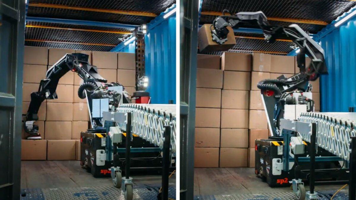 Boston Dynamics, yeni depo robotu Stretch'i tanıttı
