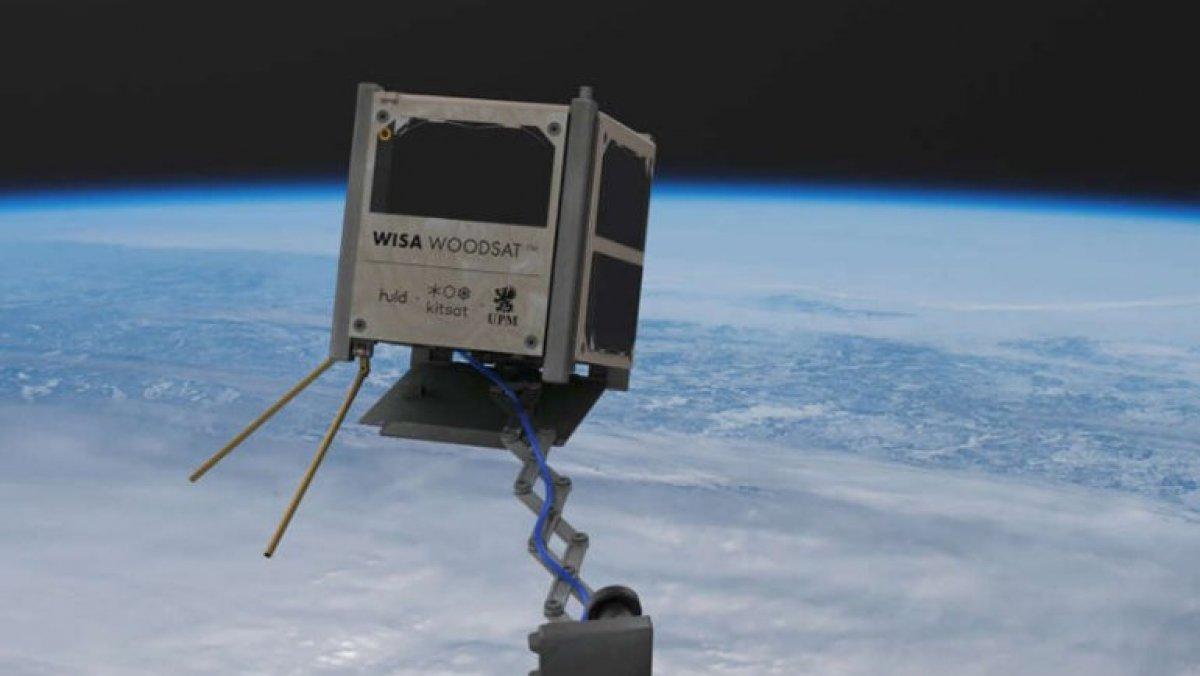 Dünyanın ilk ahşap uydusu bu yıl uzaya fırlatılacak