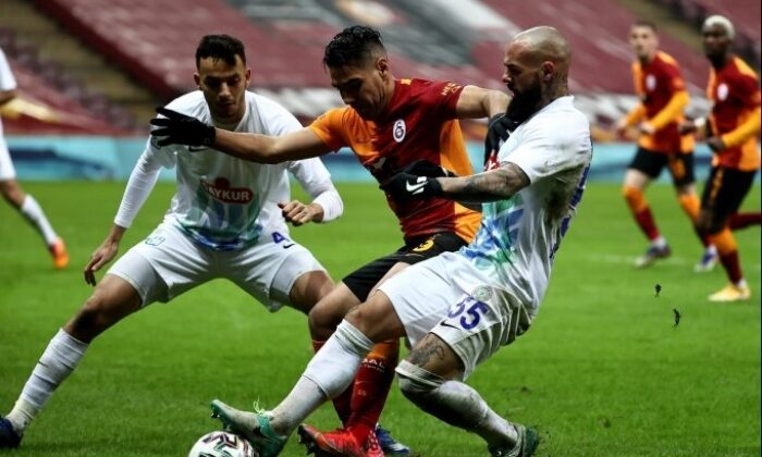 Galatasaray'ın sahasındaki serisi sona erdi!