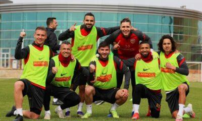 Kayserispor, Galatasaray hazırlıklarını sürdürdü