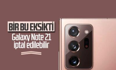 Samsung, çip sorunları nedeniyle Galaxy Note 21'i satışa çıkarmayabilir
