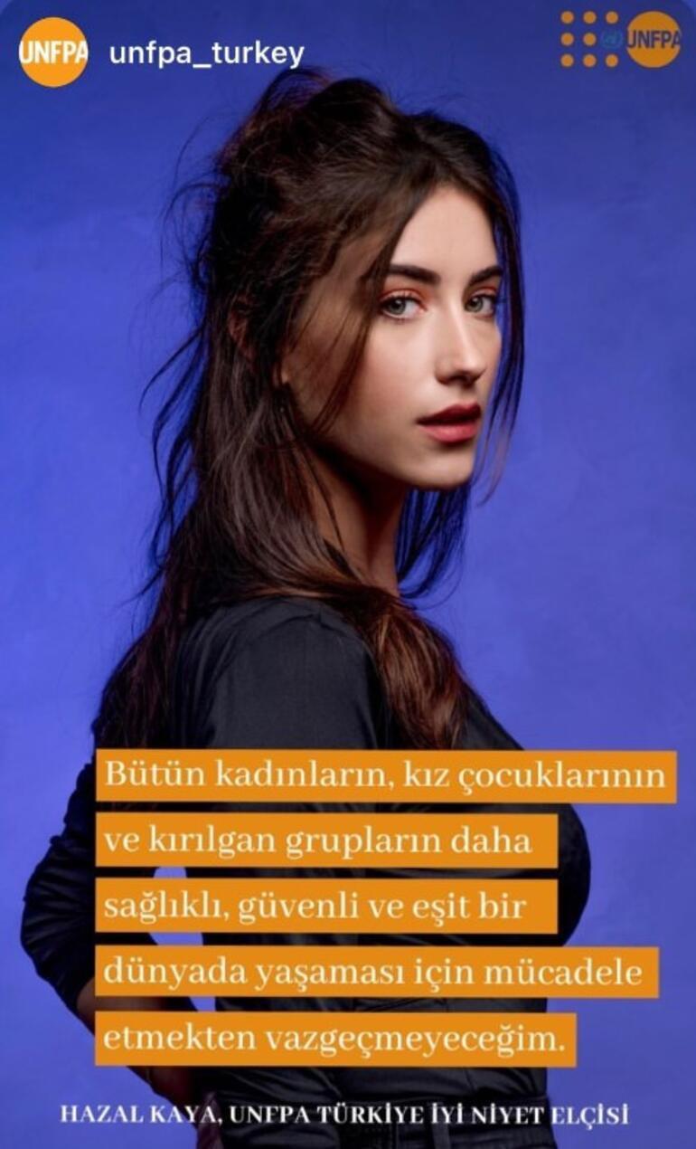 UNFPA Türkiye'nin iyi niyet elçisi