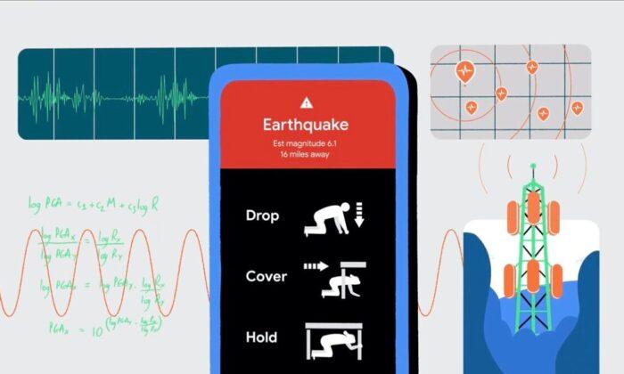 Google, deprem algılama sistemini ABD dışına çıkarıyor