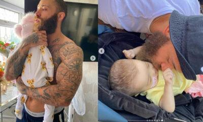 Ünlü çiftin sekiz aylık bebeği hayata veda etti: Cennette seni yine kucağıma alacağım prenses